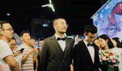 「愛最大,無關性別」廈門首場同性公開婚禮紀實
