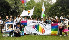 愛丁堡同志驕傲遊行 台灣首度組隊參加