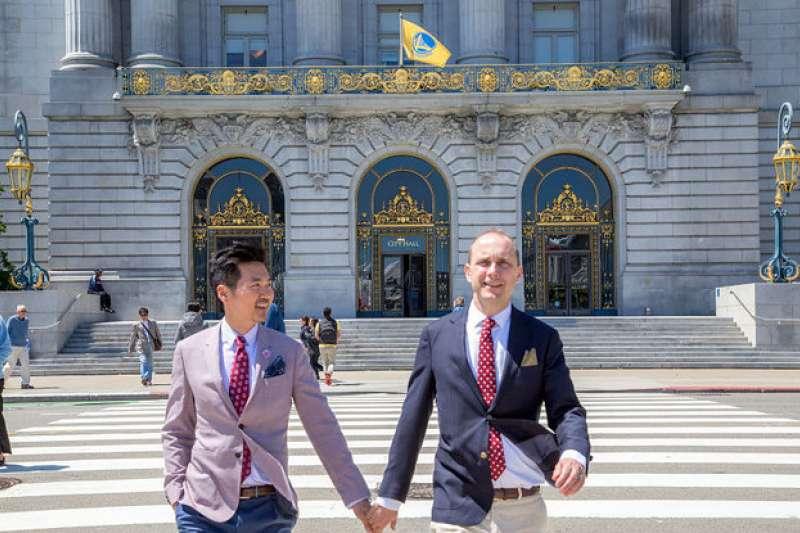 桃園市長鄭文燦訪美見同志外交官 國務院代理副助卿史墨客伴侶來自台灣