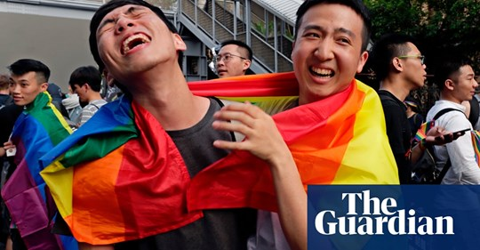 Taiwan becomes first in Asia to legalise same-sex marriage