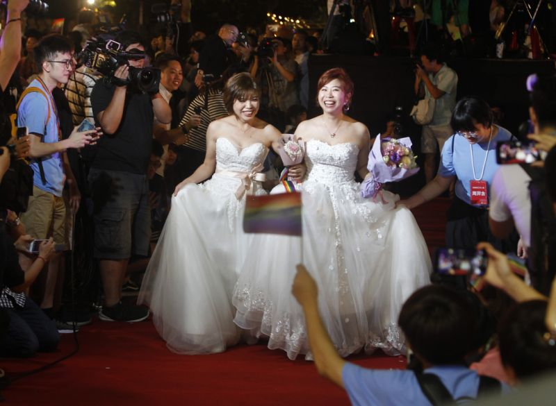 【Yahoo奇摩十大新聞事件】台灣「愛最大」 同婚專法通過摘2019年度榜首