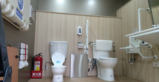 跨年晚會進入倒數!北市啟用全台首座「五星友善」流廁車